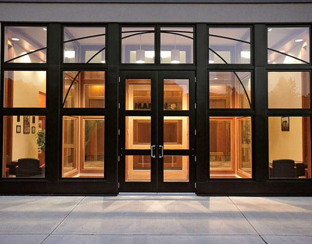 Commercial Aluminum Doors : Doors anderson moulding windows and