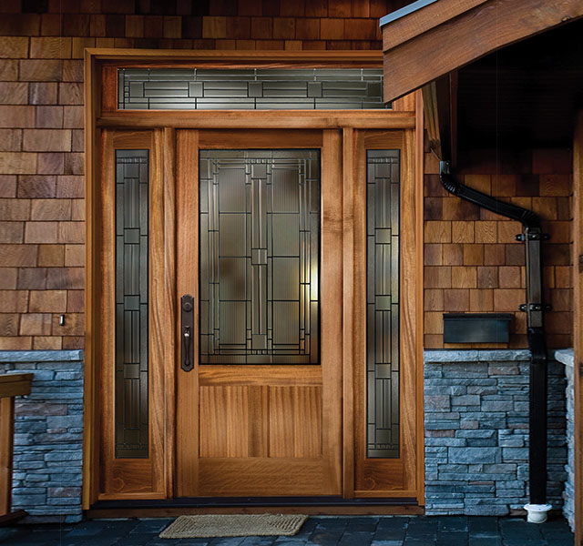 Doors anderson moulding windows and doors for Wood doors with windows