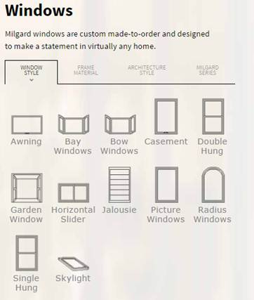 milgard windows utah we have windows and doors in shapes styles that can be used combinations to improve the beauty comfort energy efficiency of your home milgard spotlight anderson moulding windows doors