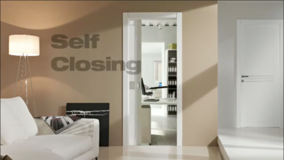 Self Closing Screen : Eclisse introduces the self closing pocket door anderson